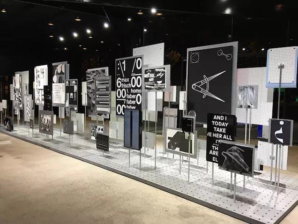 平面设计展品的排列方式也是一种艺术