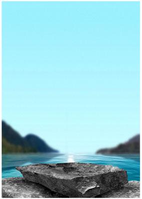 Photoshop制作合成天然精华护肤品海报